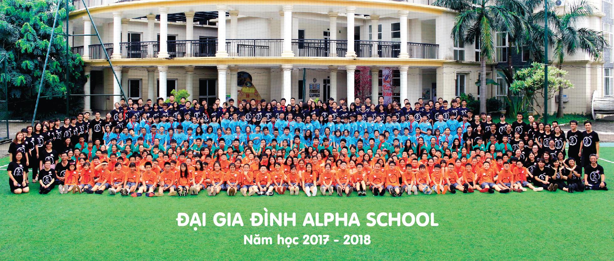 Anh khai giảng năm học 2017 - 2018