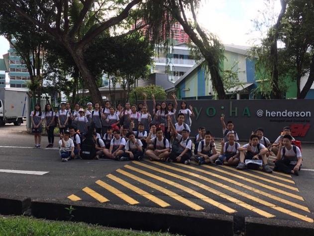 Trại hè quốc tế singapore 2017