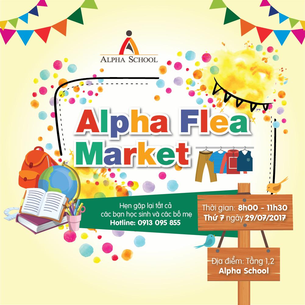 Ngày hội mua sắm Alpha FleaMarket