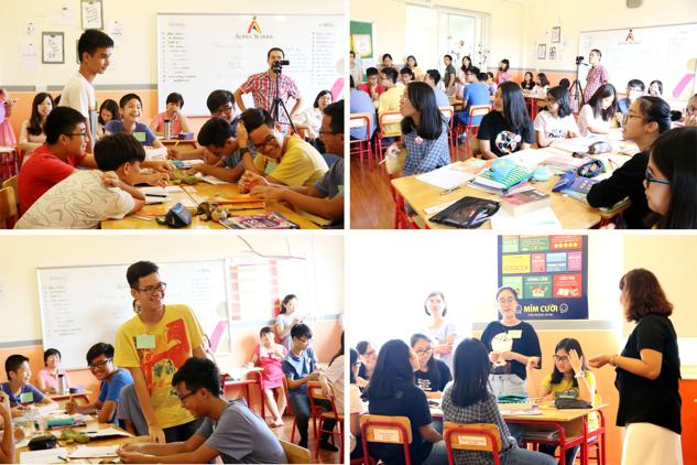Hoạt động dạy học trong giờ Tiếng Anh Ielts Speaking của cô Hana