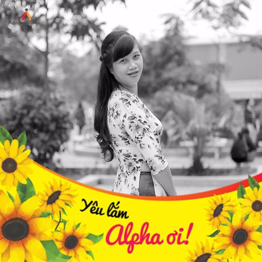 Chị Bùi Thanh Trang, mẹ học sinh Đỗ Hồng Giang - lớp 8A4