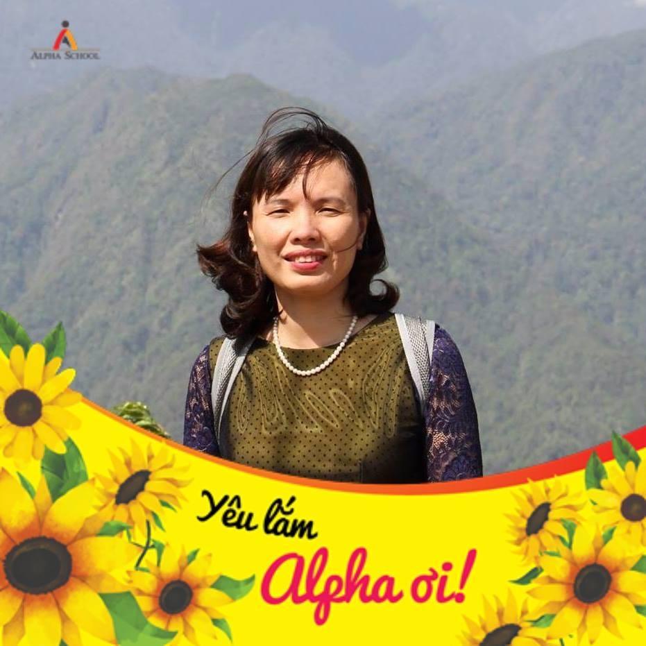 Chị Nguyễn Hồng Phúc, mẹ học sinh Muôn Đức Huy - Lớp 8A3