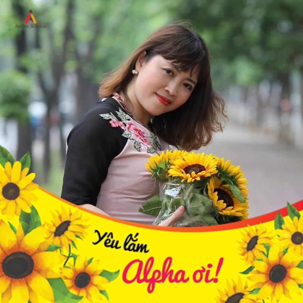 Chị Nguyễn Thị Bích Ngọc, mẹ học sinh Nguyễn Doãn Đức Anh lớp 8A3
