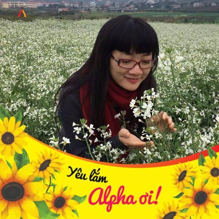 Chị Nguyễn Thị Việt Anh, mẹ của học sinh Trần Đức Lương lớp 6A1
