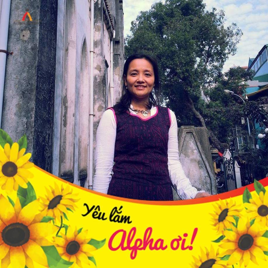 Chị Trần Thu Hằng, mẹ học Nguyễn Hoàng Anh Thi– Lớp 8A4