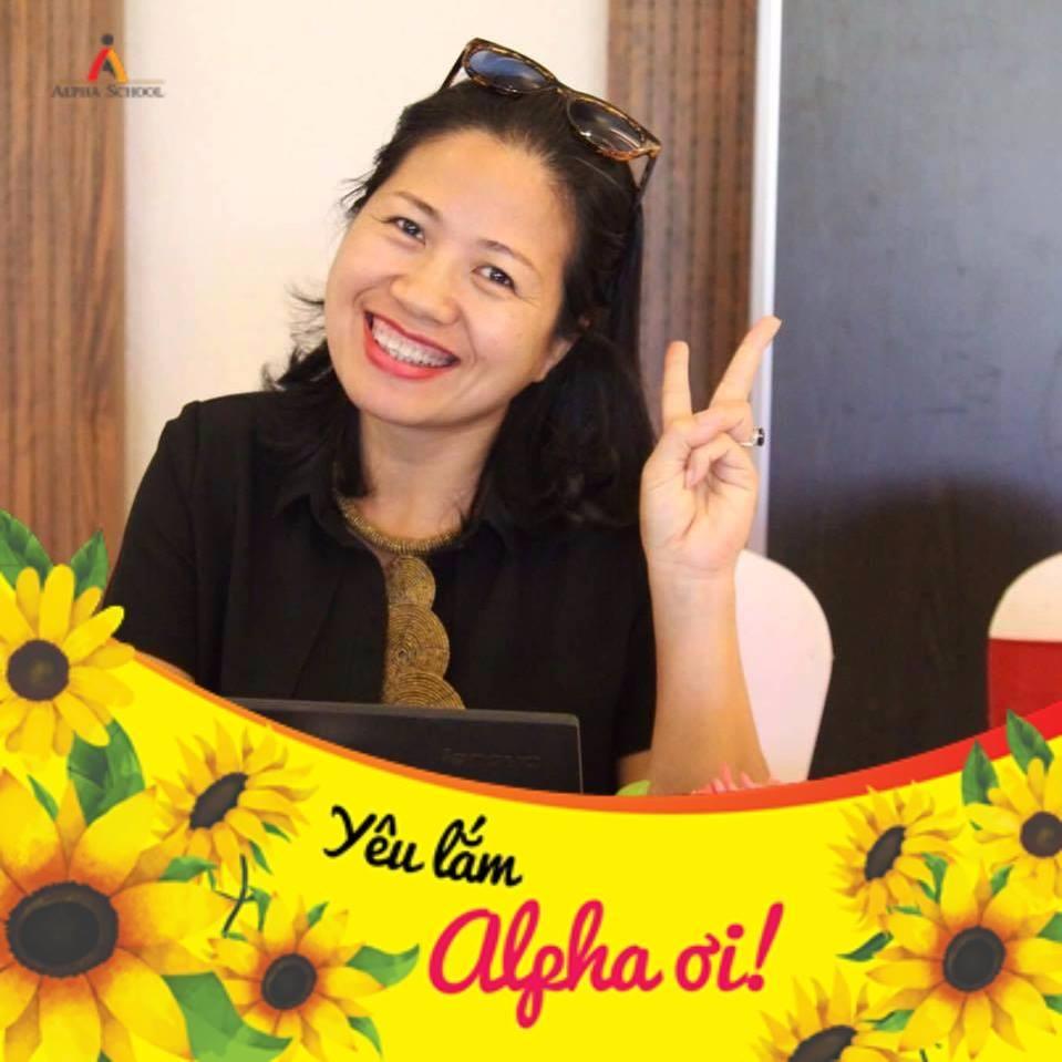 Đỗ Thúy Hà, mẹ hs Nguyễn Đan Quỳnh - 6A2