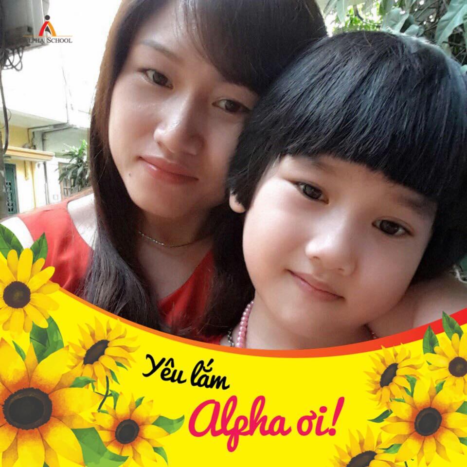Chị Lương Thu Hà, mẹ hs Phan Trung Hải - 7A1